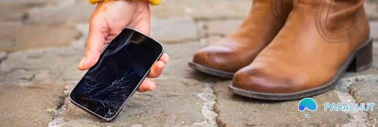 Parachut Assurance smartphone
